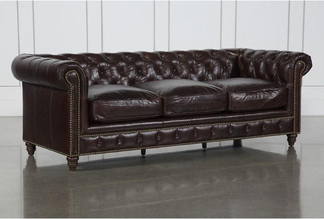 Churchill Leather Sofa - 360