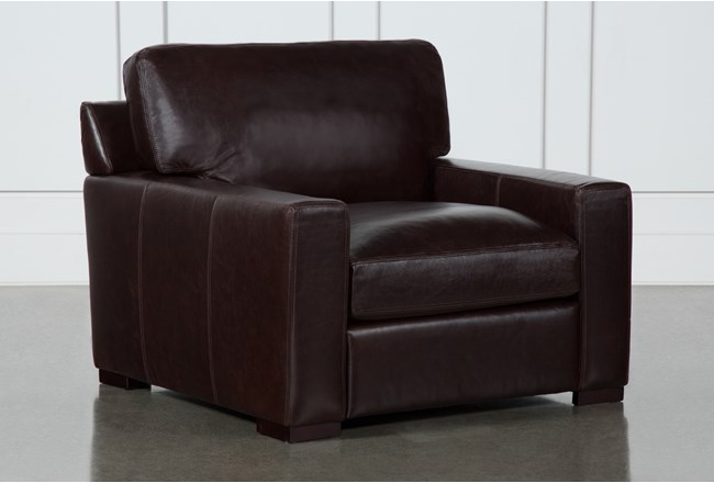 Stout Leather Chair Living Spaces
