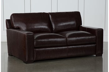 "Stout Leather 69"" Loveseat"