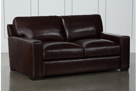 Stout Leather Loveseat - Main