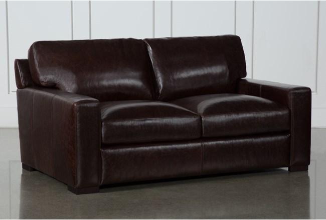 Stout Leather Loveseat - 360