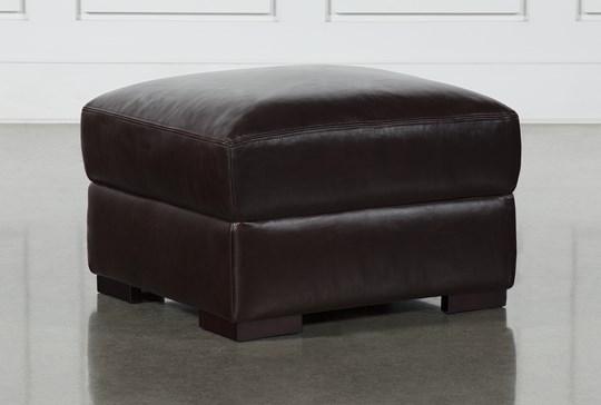 Stout Leather Ottoman