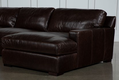 Fine Stout Leather 3 Piece Sectional With Right Arm Facing Chaise Ocoug Best Dining Table And Chair Ideas Images Ocougorg