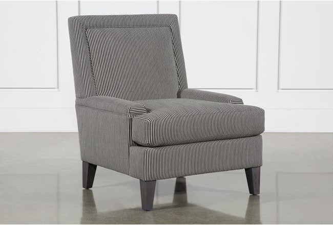 Laurel Jet Accent Chair By Nate Berkus And Jeremiah Brent - 360