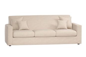 Magnolia Home Bower Pressman Parchment Sofa By Joanna Gaines