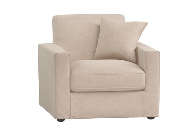 Magnolia Home Bower Pressman Parchment Chair By Joanna Gaines - 360