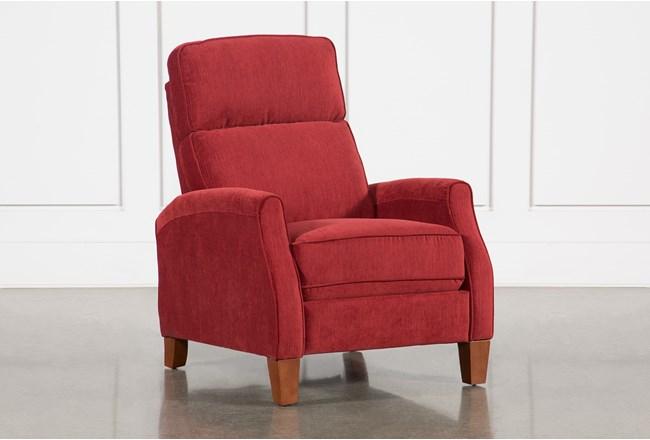 Lillard Crimson Recliner - 360