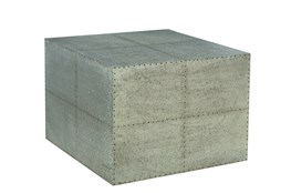 Otb Wood Grey Iron Table