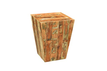 Reclaimed Square Side Table