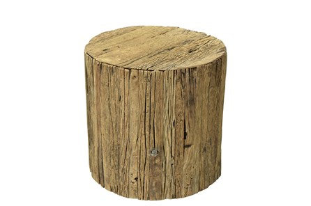 Otb Reclaimed Brown Railway Small Side Table