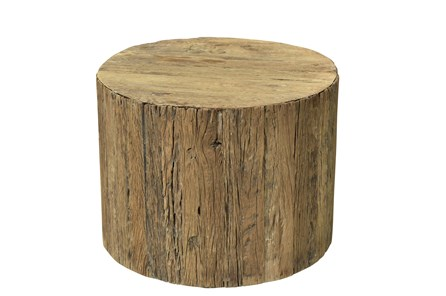 Otb Reclaimed Brown Railway Large Side Table