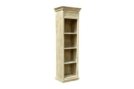 Reclaimed White Bookshelf - Main