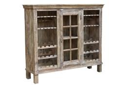 Reclaimed Natural Large Bar Cabinet