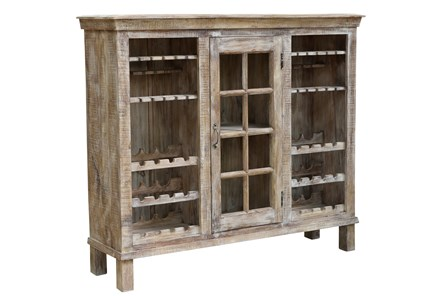 Reclaimed Natural Large Bar Cabinet - Main