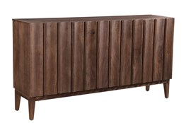 RECLAIMED BROWN CORRUGATED SIDEBOARD