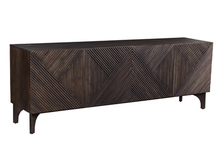3D BROWN SIDEBOARD