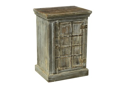 Reclaimed Grey Side Table