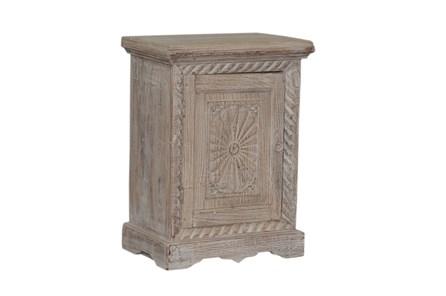 Otb Reclaimed Natural Starburst Door Side Table