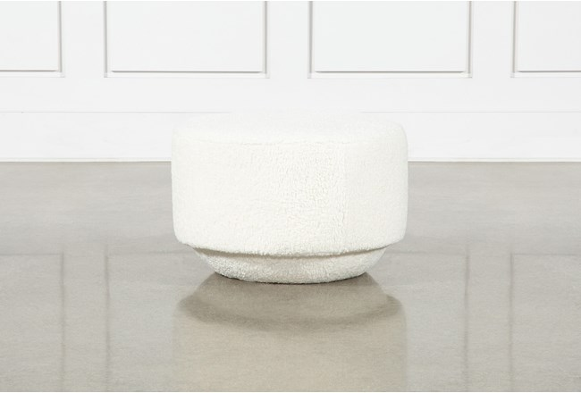 Mohave Natural Accent Ottoman By Nate Berkus And Jeremiah Brent - 360