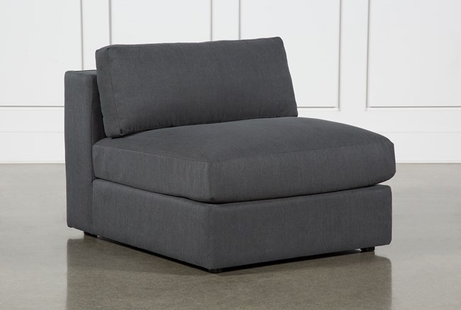 Whitley Pepper Armless Chair By Nate Berkus And Jeremiah Brent - 360