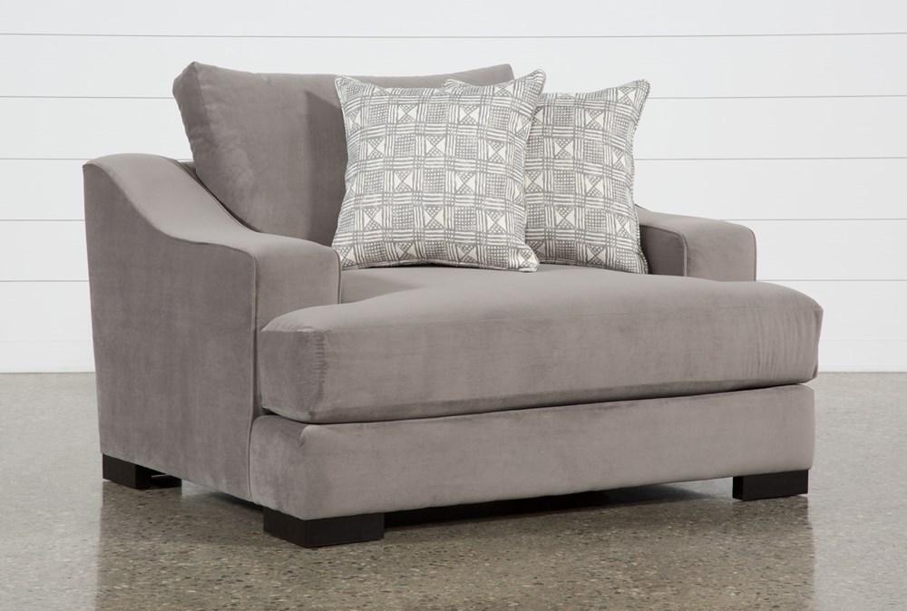 Lodge Velvet Oversized Chair
