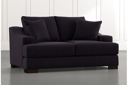 Lodge Black Foam Loveseat