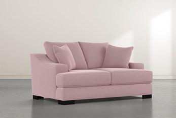 Lodge Pink Foam Loveseat