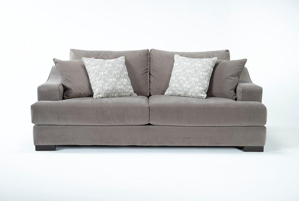 """Lodge Velvet  96"""" Sofa"""