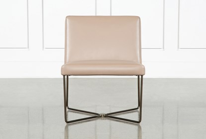 Magnificent Armless Taupe Leather Chair By Nate Berkus And Jeremiah Brent Uwap Interior Chair Design Uwaporg