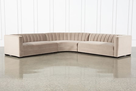 Soane Mondo 3 Piece Sectional By Nate Berkus And Jeremiah Brent