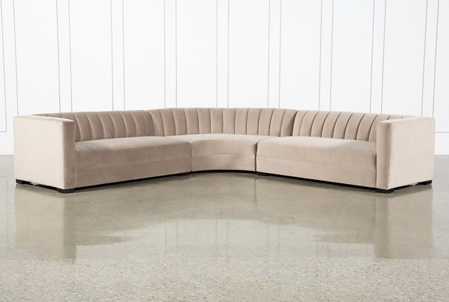 Soane Mondo 3 Piece Sectional By Nate Berkus And Jeremiah Brent - 360