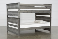 Summit Grey Full Over Full Bunk Bed