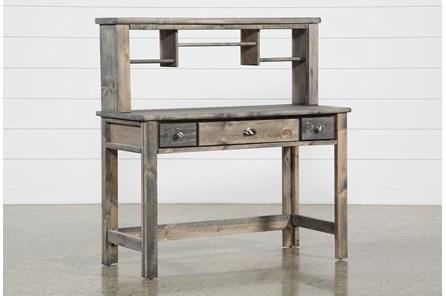 Summit Grey Desk/Hutch