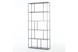 Gunmetal Bookshelf