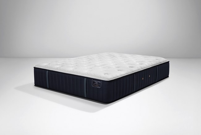 Stearns & Foster Rockwell Euro Pillow Top Luxury Plush Cal King Split Mattress - 360