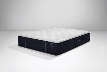 Stearns & Foster Rockwell Euro Pillow Top Luxury Plush Queen Mattress
