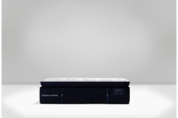 Cassatt Euro Pillow Top Luxury Ultra Plush Cal King Split Mattress