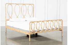Wrapped Cane Eastern King Bed By Nate Berkus and Jeremiah Brent