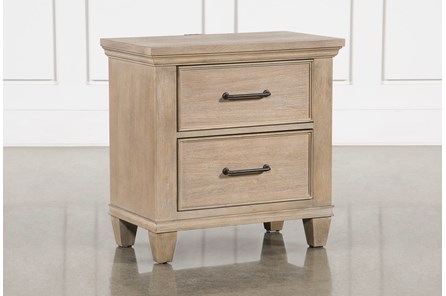 Meridian Nightstand With USB - Main