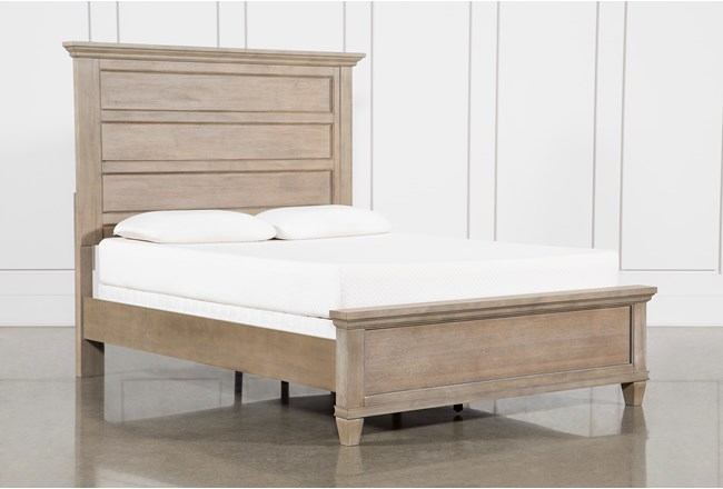 Meridian Queen Panel Bed - 360