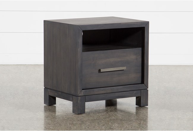 Slater 1 Drawer Nightstand - 360
