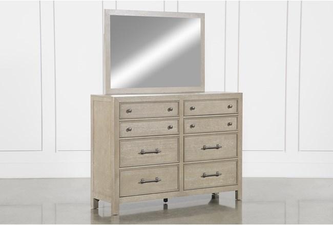 Conrad Grey Dresser/Mirror - 360