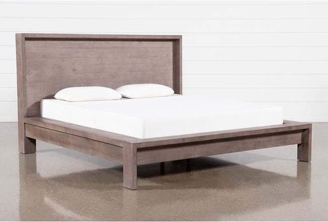 Regan Queen Platform Bed - 360