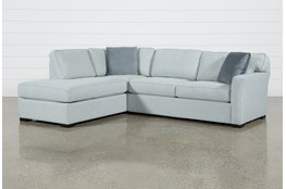 Aspen Tranquil 2 Piece Sectional With Left Facing Armless Chaise