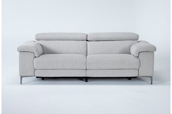 Talin Linen Power Reclining Sofa With Usb