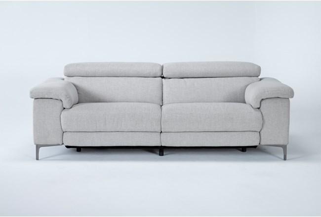 Talin Linen Power Reclining Sofa With Usb - 360