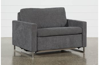 "Branson Charcoal 52"" Twin Sofa Sleeper"