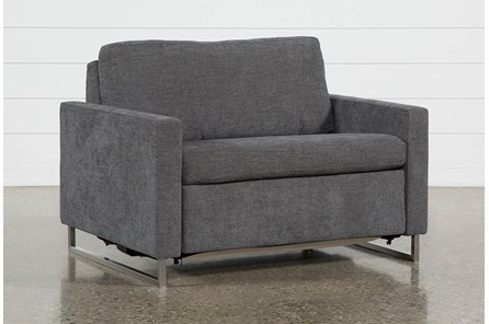 Branson Charcoal Twin Sofa Sleeper