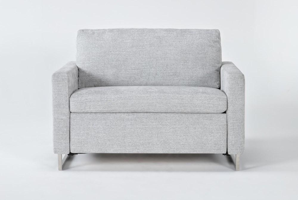 Branson Light Grey Twin Sofa Sleeper