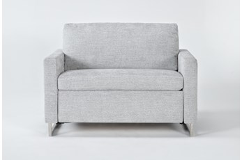 Branson Light Grey Twin Sofa Sleeper